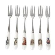 Wrendale Set of 6 Pastry Forks